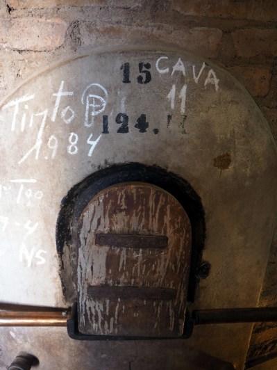 Anciennes cuves à vin, Famillia Di Tommaso, Mendoza