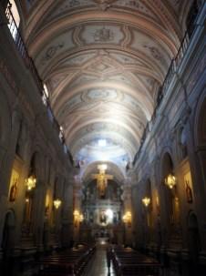 A l'intérieur de l'Iglesia San Fransisco, Salta