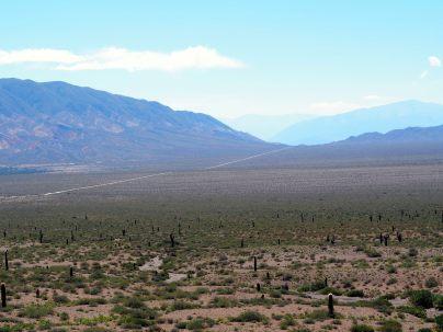 Cachi Pampa dans le parc national Los Cordones, et la Ruta Tin Tin