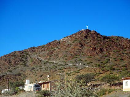 Sur la route entre Cachi et Cafayate, un chemin de croix