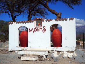 Sur la route entre Cachi et Cafayate, le village de Molinos