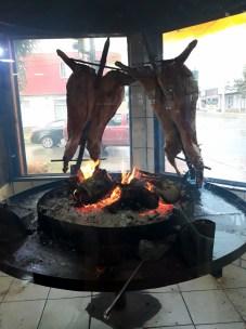 Agneau patagonien à la broche