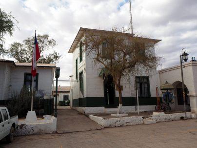 Caserne des carabiniers à San Pedro de Atacama