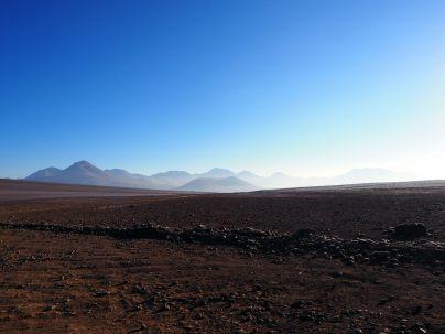 La frontière Chili / Bolivie, perdue dans l'altiplano