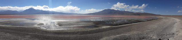 Panorama de la Laguna Colorada, Sud Lipez