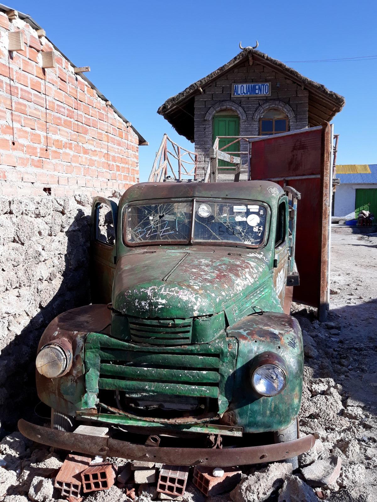 Ruine de camion, Colchani, près d'Uyuni