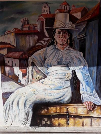 Fresque à Potosi