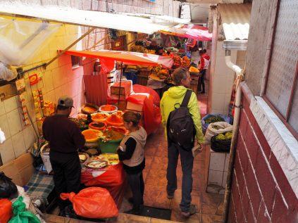 Dans les allées du Mercado