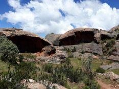 Impressionnants rochers dans le parc de Toro Toro