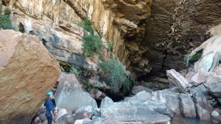 Descente dans la caverne d'Umajalanta (Parc de Toro Toro)