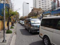 La circulation dans La Paz...