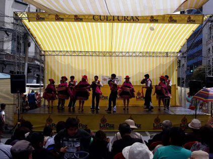Petit spectacle de danse traditionnelle, La Paz