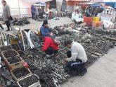On trouve de tout au marché de El Alto...