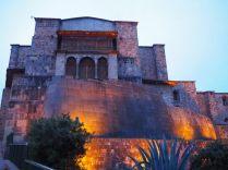Eglise de Santo Domingo construite sur le temple du soleil à Cuzco