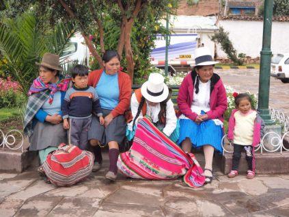 Famille péruvienne