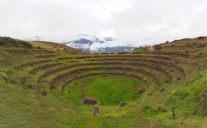 Vallée sacrée des Incas, site de Moray, Panorama