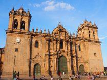 Sur la Plaza Del Armas, Cathédrale, Cuzco