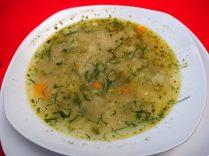 Bouillon/Soupe servie dans le sud-lipez