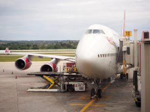 Le dernier avion de notre voyage...