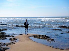 Elise dans son élément : la mer !