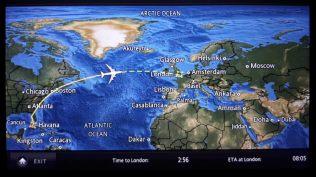 Le vol retour