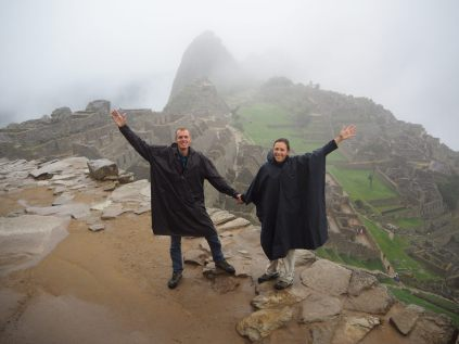 Premiers pas sur le site du Machu Picchu