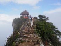 Arrivée au sommet de la Montana, Machu Picchu