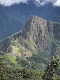 Vue sur le Machu Picchu depuis la Montana