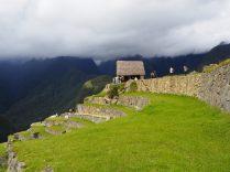 Les terrasses de la zone agricole de la cité inca du Machu Picchu