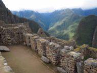 Dans la zone urbaine du Machu Picchu