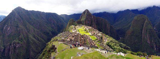Panorama du site du Machu Picchu