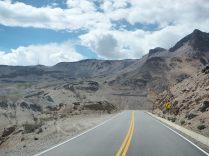 Sur la route vers le canyon de colca