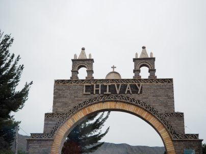 La ville de Chivay, point de départ du canyon de colca
