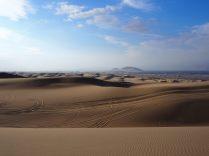 La vue du haut des dunes