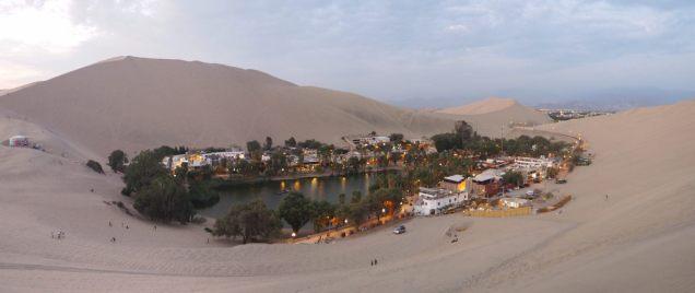 L'oasis de Huacachina