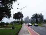 Le parc Raimondi, qui longue la Costa Verde de Lima