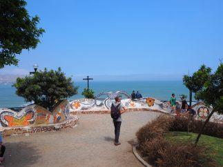 Le parc de l'amour, le long de la costa verde à Lima