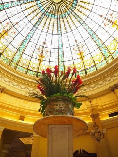 A l'intérieur du Gran Hotel Bolivar, Lima