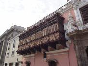 Balcon colonial en bois, Lima