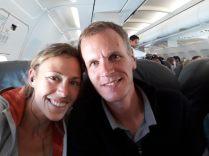 A bord du vol vers la Havane