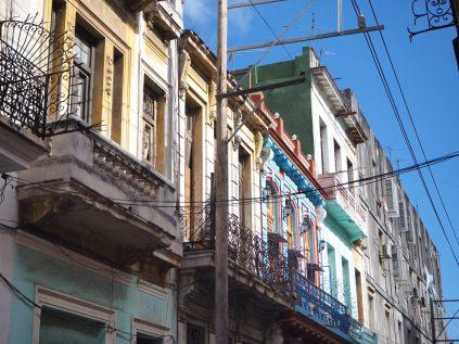 Facades à la Havane