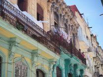 Façades colorées, La Havane, Cuba