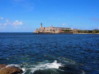 Vue sur le Faro del Castillo del Morro