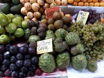 Fruits dans un marché de Cuzco