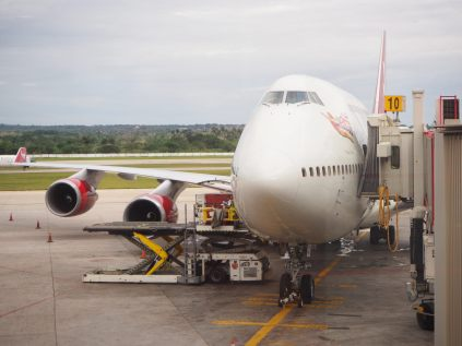 """""""Tinker Belle"""", notre dernier avion du voyage... et qui nous ramène (presque) à la maison"""