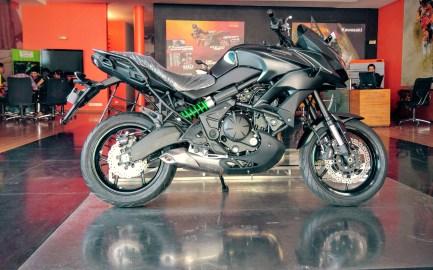 Kawasaki Versys 650 - Showroom Images