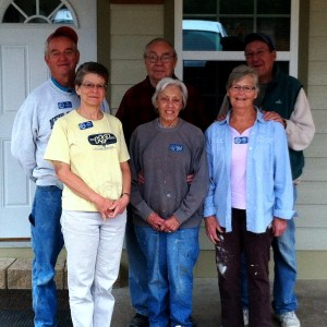 The SOWER team for the month of February 2014 at His Hill Bible School, Part of Torchbearers Ministries: Don and Jenny - SD, Nola and Roger – MN, and Agnes and Joe – Maine.