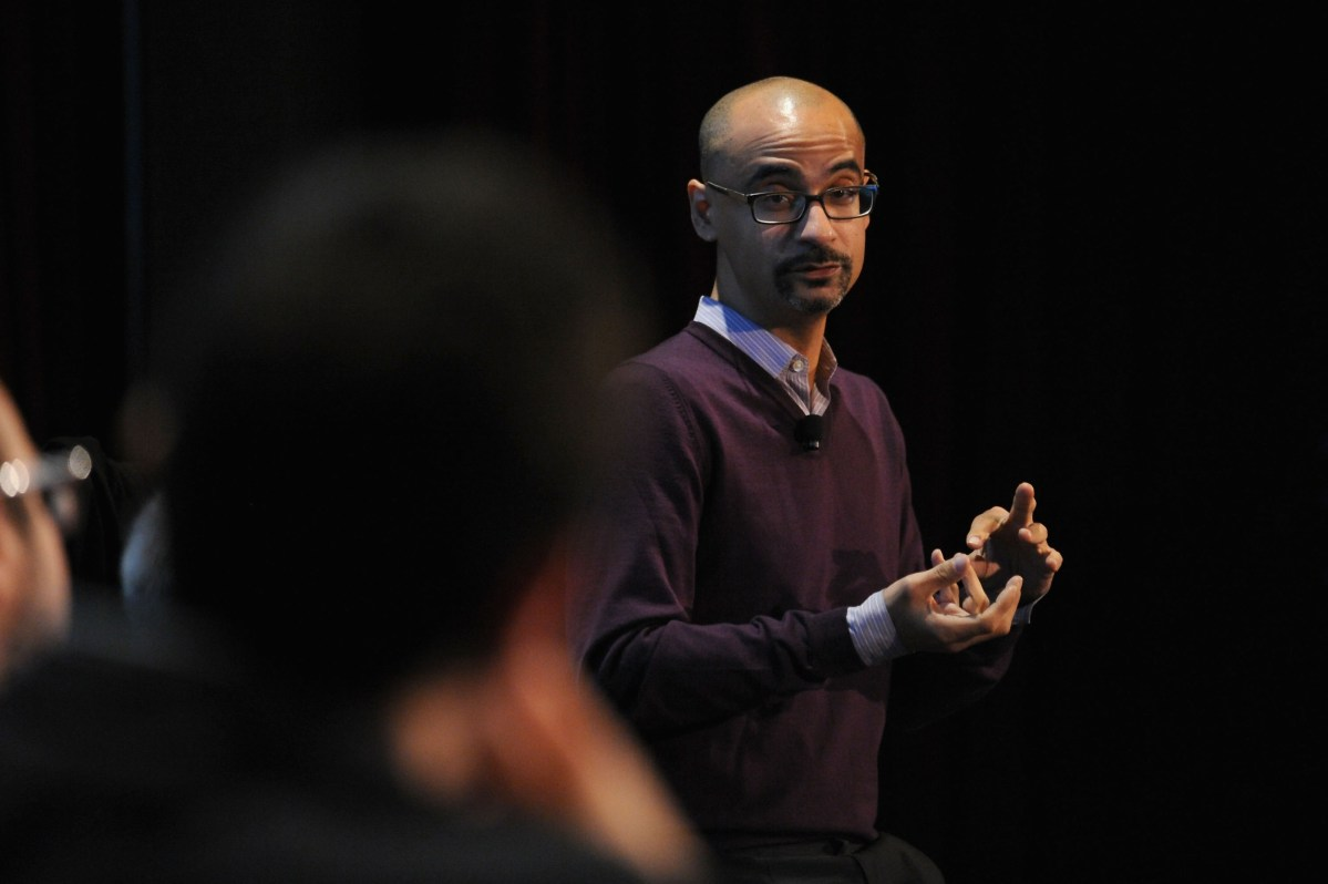 Writer Junot Díaz attends the Jersey Boys at The New Yorker Festival on October 10, 2014. (Photo by Andrew Toth/Getty Images for The New Yorker Festival)