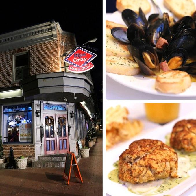 Great Eats In Gettysburg, PA: Blue & Gray Bar & Grill