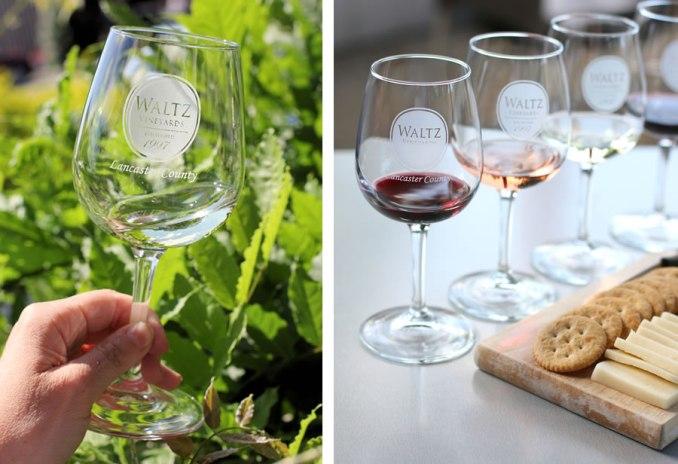 Lancaster Road Trip: Wine Tasting at Waltz Vineyard At Kitchen Kettle Village